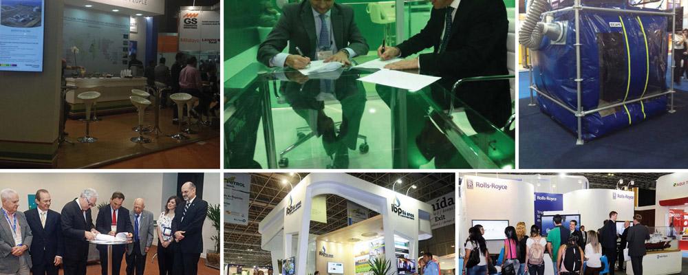 Cresce volume de negócios durante Rio Oil & Gas