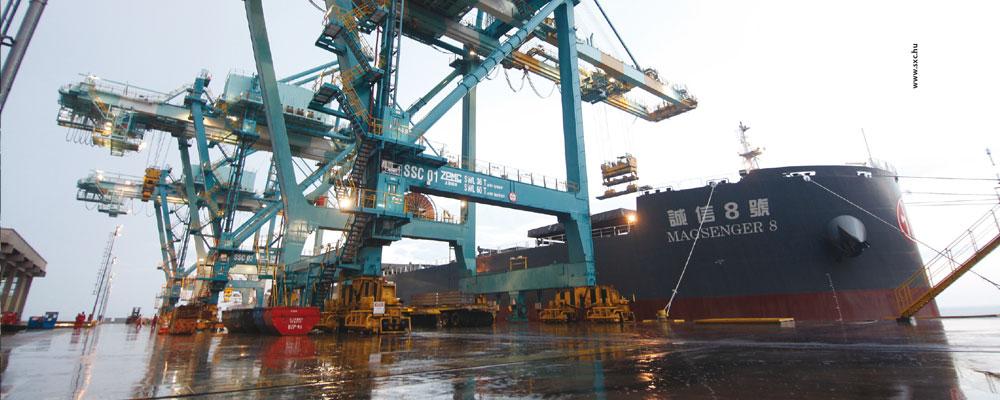 Porto da Thyssenkrupp garante controle logístico para a empresa
