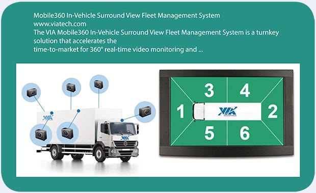 VIA Technologies apresenta sistema inteligente para transporte rodoviário no Brasil