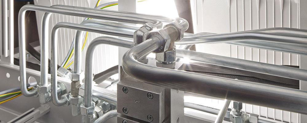 Multiplicidade de remodelação e dobra automática para a hidráulica