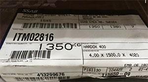 Como identificar o verdadeiro Hardox, produzido pela SSAB