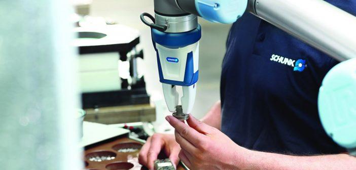Primeira Garra Industrial Certificada para Operação Colaborativa
