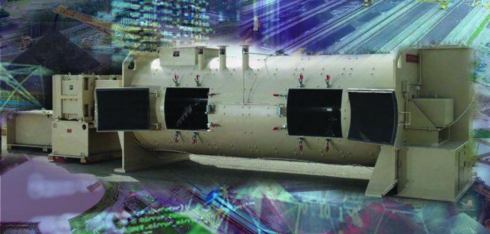 O Processo de Mistura de Minério de Ferro para Peletização usando Misturador Contínuo Horizontal.|