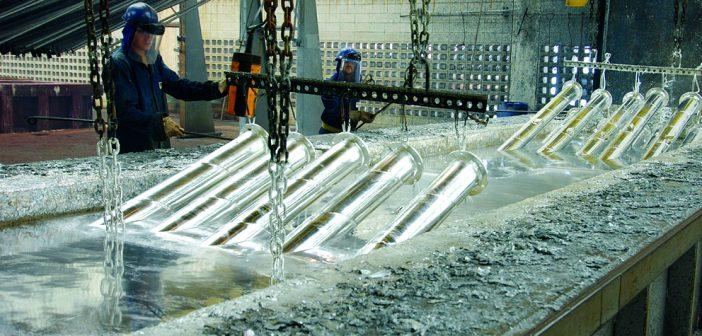 Barra de Aço para armadura de concreto galvanizada por imersão a quente – PARTE 2