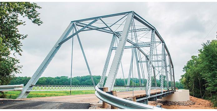 Figura 4. Ponte construída em aço galvanizado